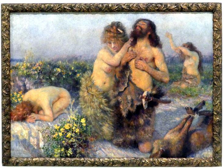 Vlaho Bukovac: Unsere Vorfahren, 1908
