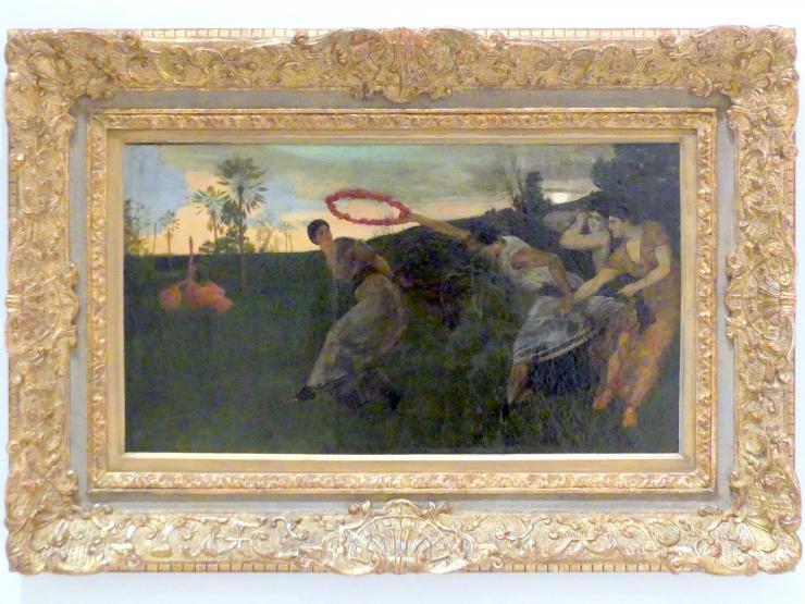 Max Klinger: Abend, 1879