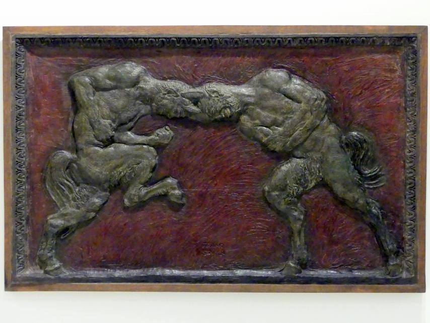 Franz von Stuck: Kämpfende Faunen, 1904 - 1905