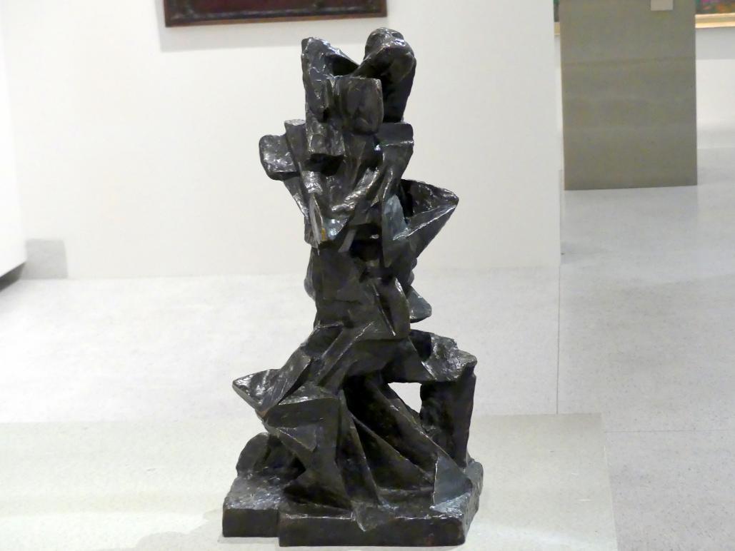 Otto Gutfreund: Liebende (Umarmende Figuren), 1913 - 1914