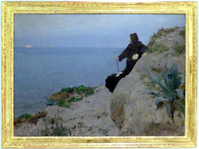 Beneš Knüpfer: Letzter Gruß (Am Ende des Tages), 1894