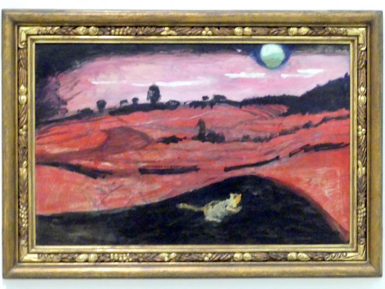 Emil Filla: Liebesnacht, 1907