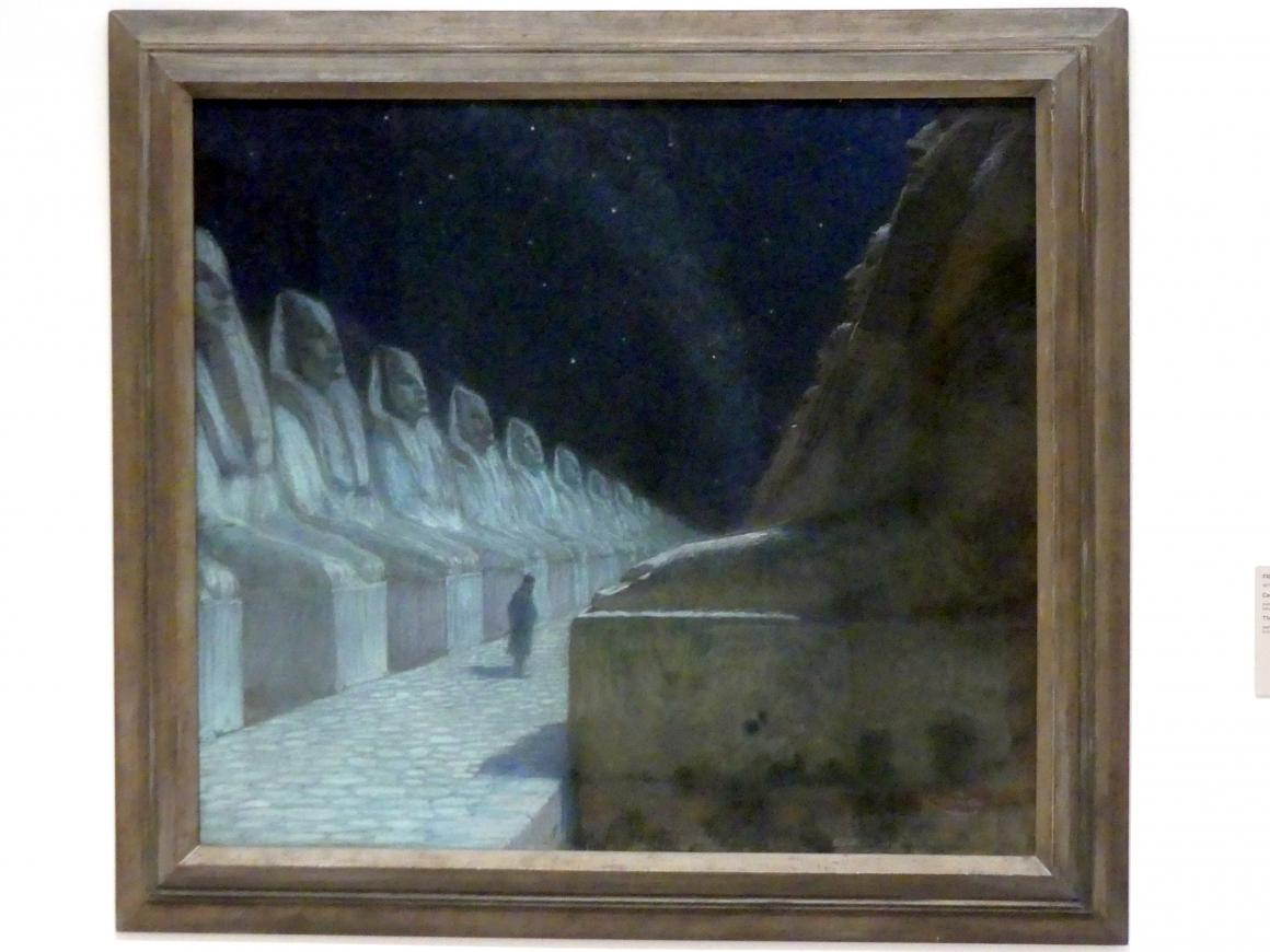 František Kupka: Weg der Stille II, 1903