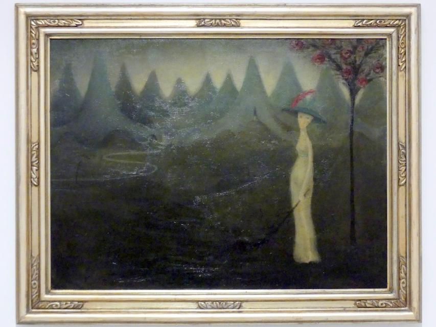 Jan Zrzavý: Tal der Trauer, 1908