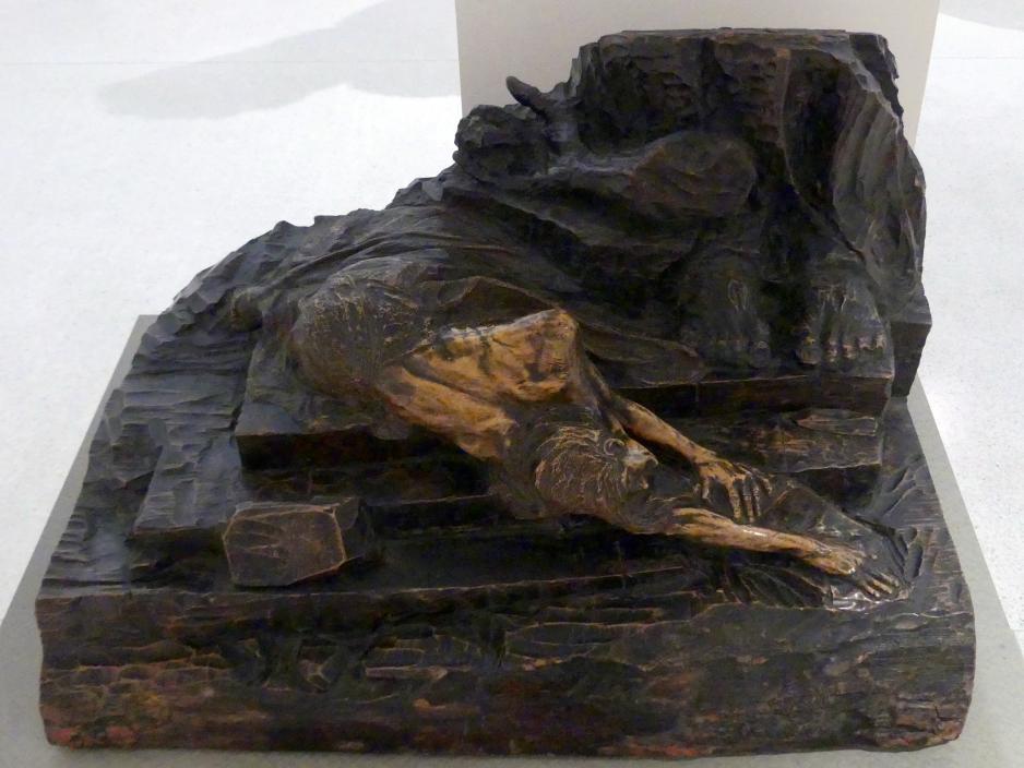František Bílek: Gleichnis vom gewaltigen Untergang der Tschechen, 1898