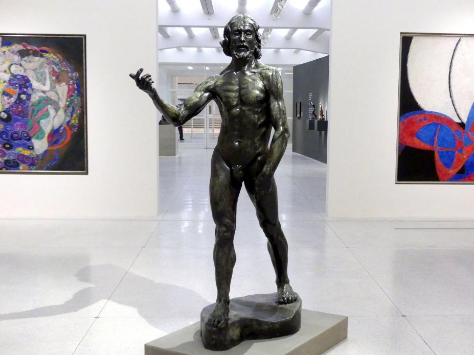 Auguste Rodin: Johannes der Täufer, 1878