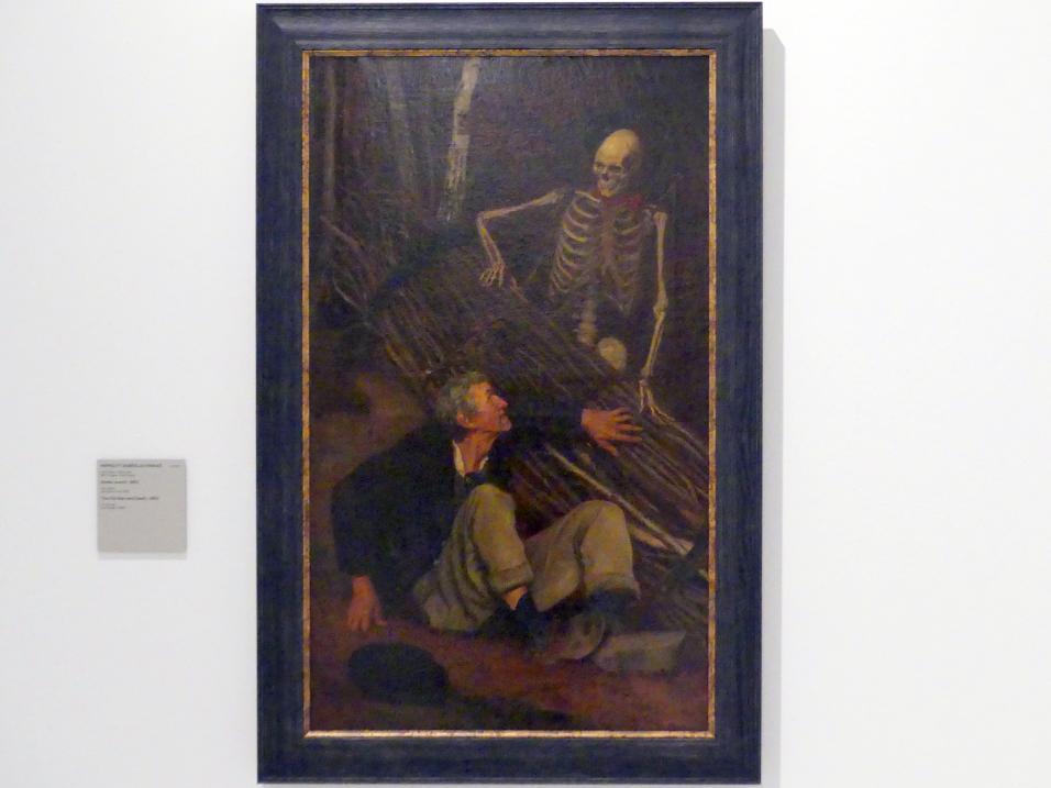 Soběslav Pinkas: Der Alte Mann und der Tod, 1863