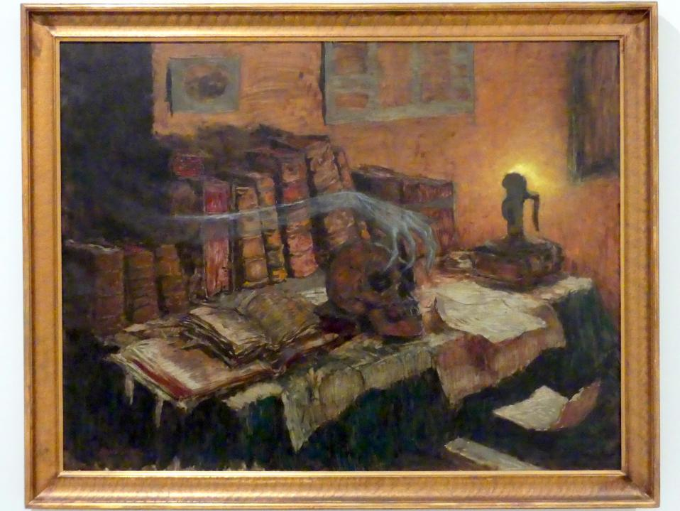 Jaroslav Panuška: Besuch des Todes, 1897