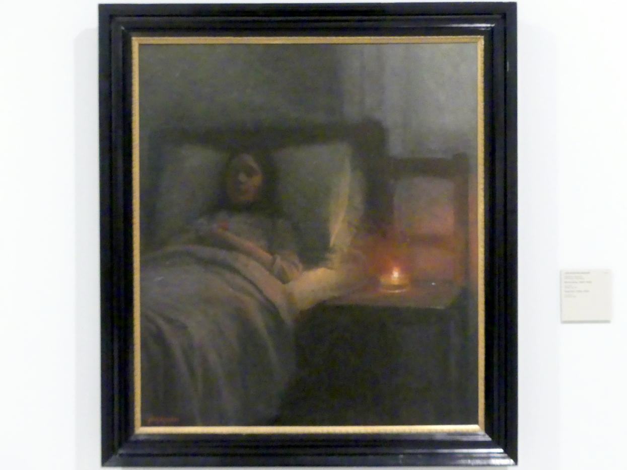 Jakub Schikaneder: Totes Mädchen, 1910 - 1915