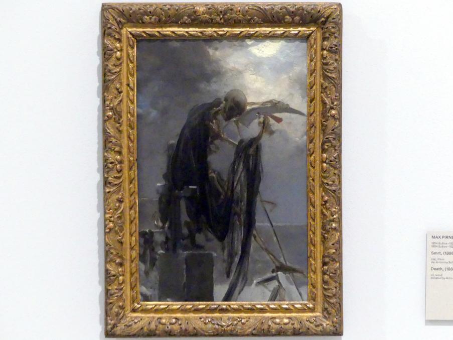 Maxmilián Pirner: Tod, 1886 - 1893