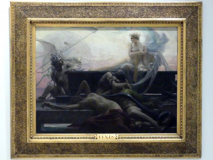 Maxmilián Pirner: Das Ende aller Dinge - Finis, 1887
