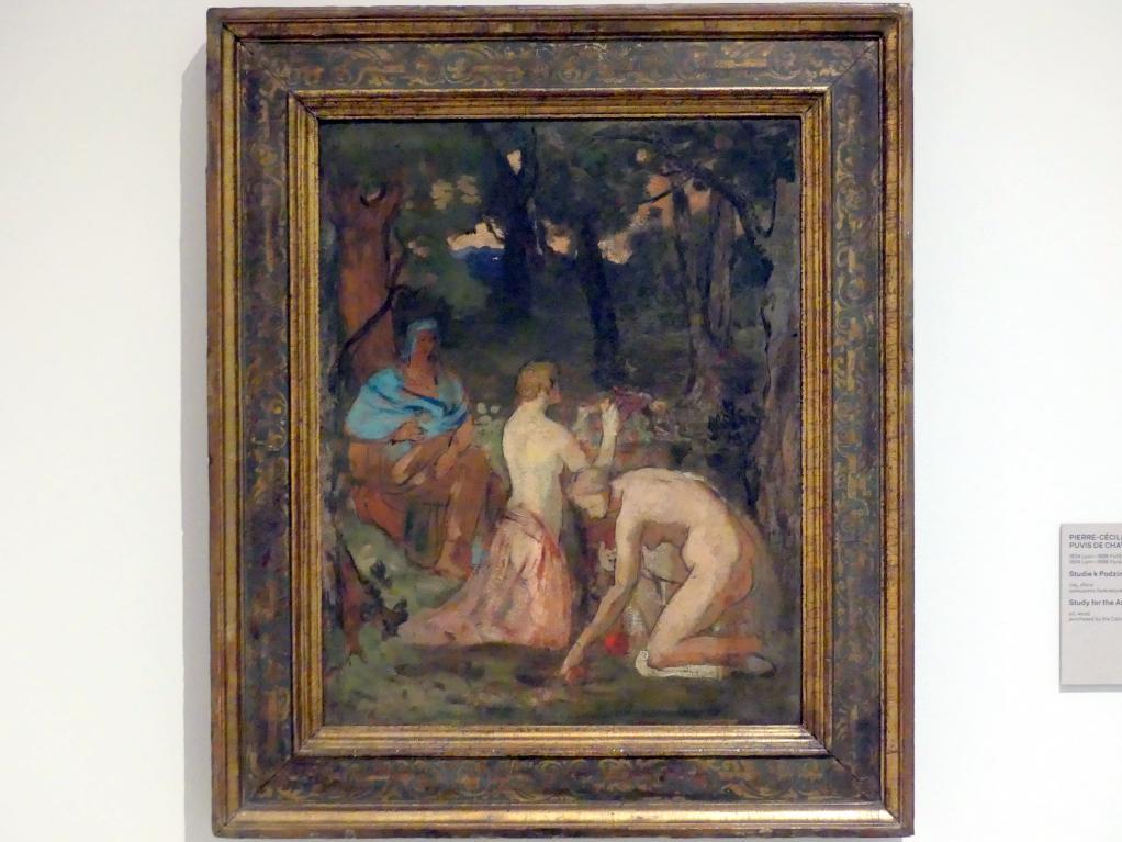 Pierre Puvis de Chavannes: Studie für den Herbst, um 1864