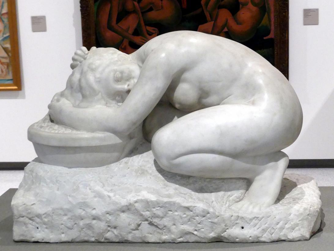 Jan Štursa: Haarwaschen, 1908
