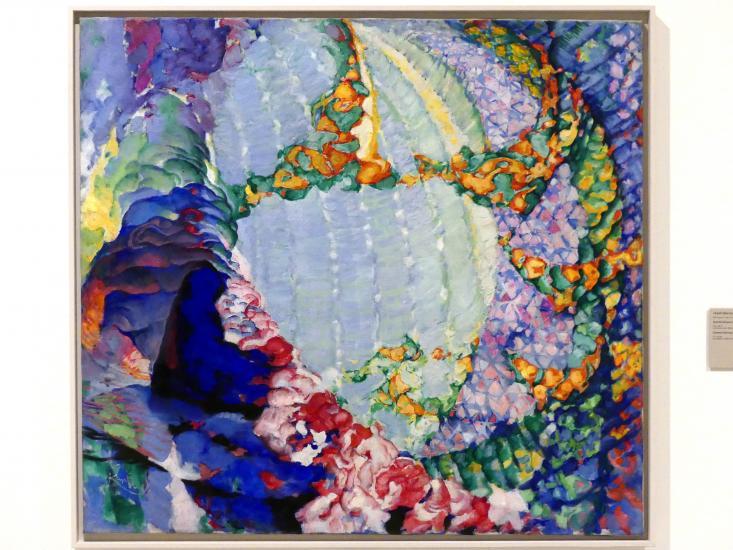 František Kupka: Kosmischer Frühling I, 1913 - 1914