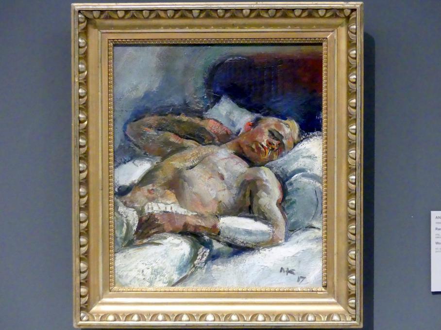 Anton Kolig: Verwundeter, 1917