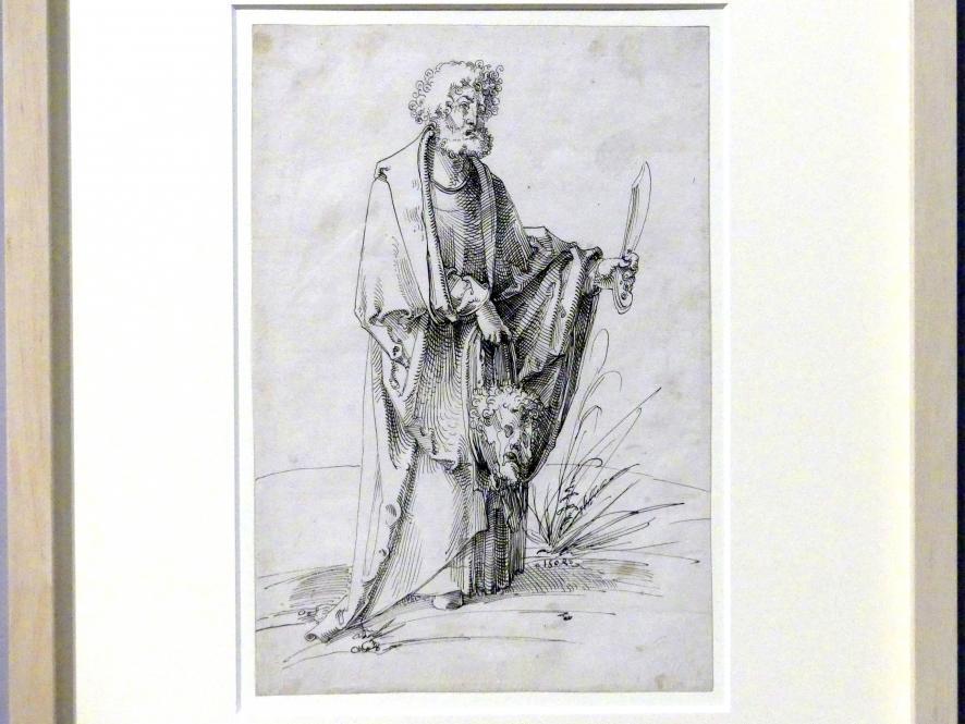 Hans Baldung Grien: Der Apostel Bartholomäus, 1504