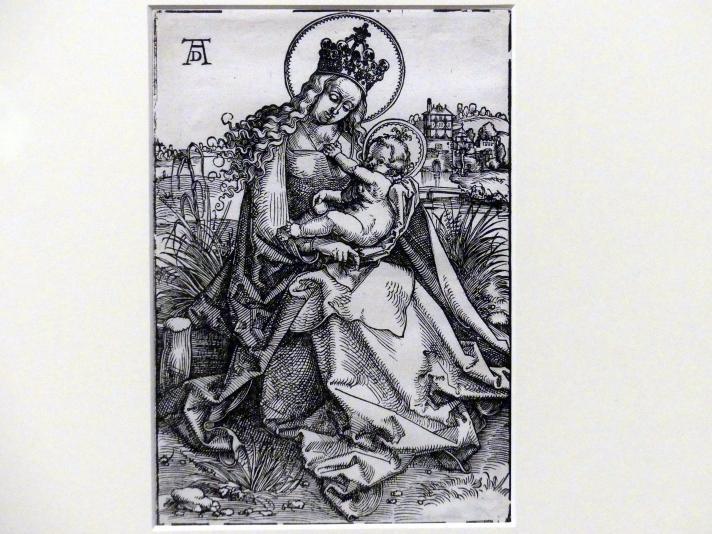 Hans Baldung Grien: Maria auf der Rasenbank, um 1505 - 1507