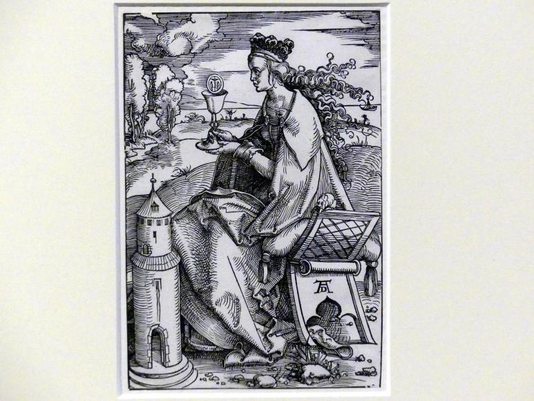 Hans Baldung Grien: Die heilige Barbara, um 1505 - 1507