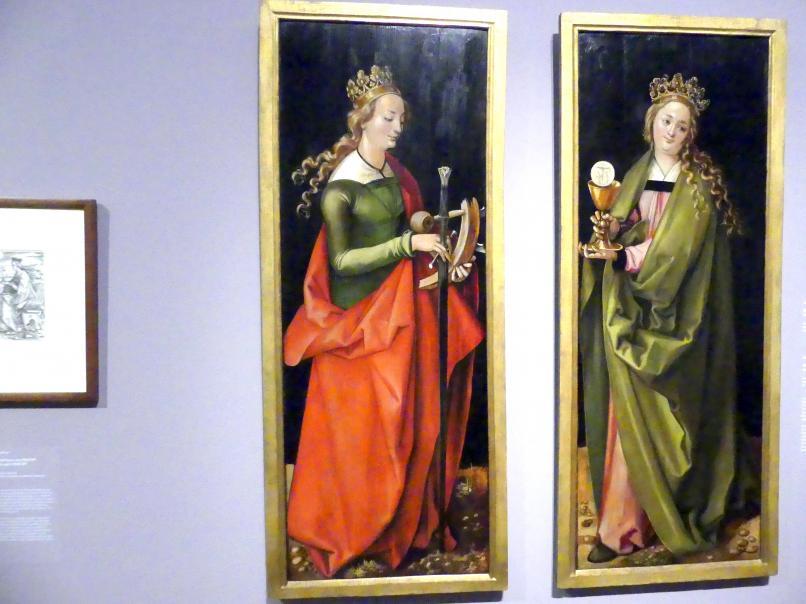 Hans Baldung Grien: Die heilige Katharina, um 1504
