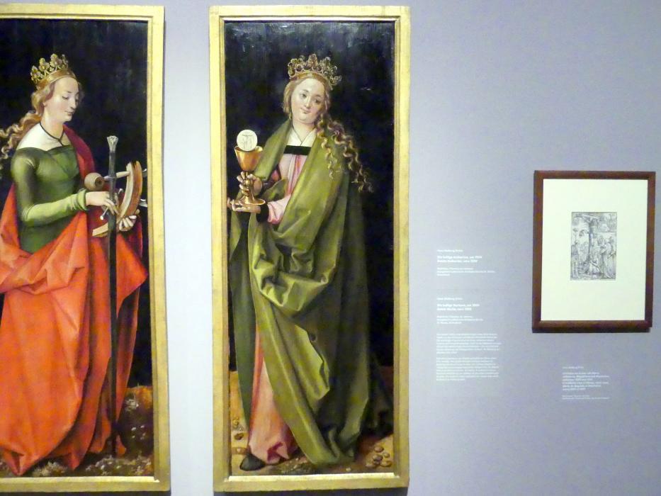 Hans Baldung Grien: Die heilige Barbara, um 1504