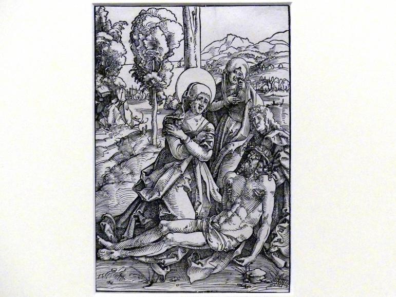 Hans Baldung Grien: Die Beweinung Christi, 1505 - 1507