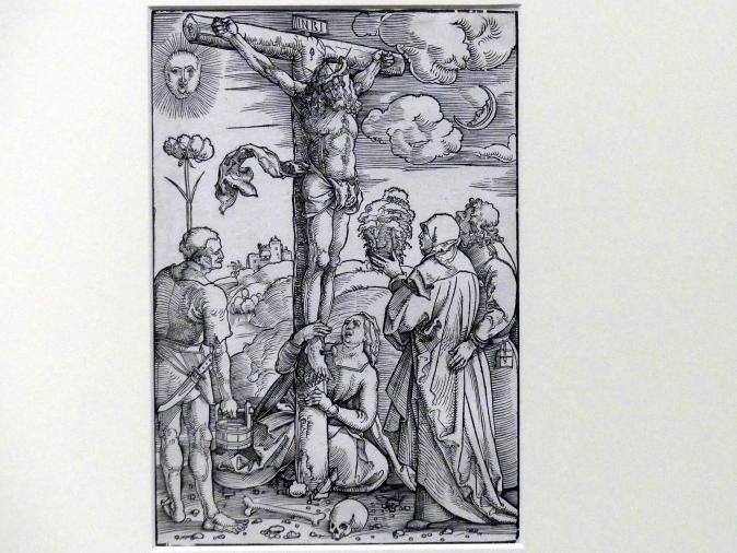 Hans Baldung Grien: Christus am Kreuz mit Maria, Johannes, Magdalena und Stephaton, um 1505 - 1507