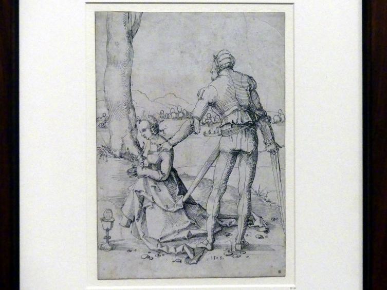 Hans Baldung Grien: Die Enthauptung der heiligen Barbara, 1505