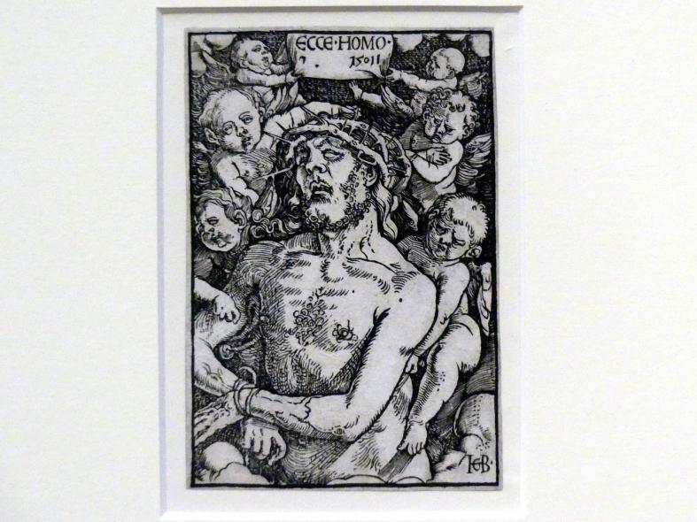 Hans Baldung Grien: Christus in Halbfigur mit sechs Engeln, 1511