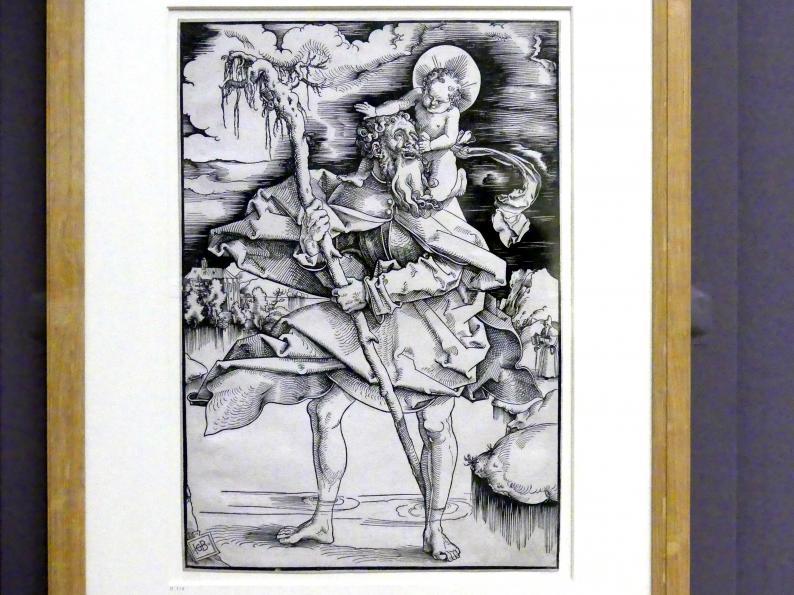 Hans Baldung Grien: Der heilige Christophorus, um 1510 - 1511