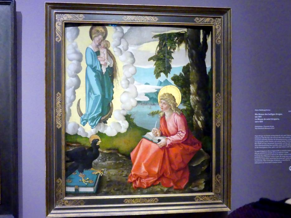 Hans Baldung Grien: Johannes der Evangelist auf Patmos, um 1511