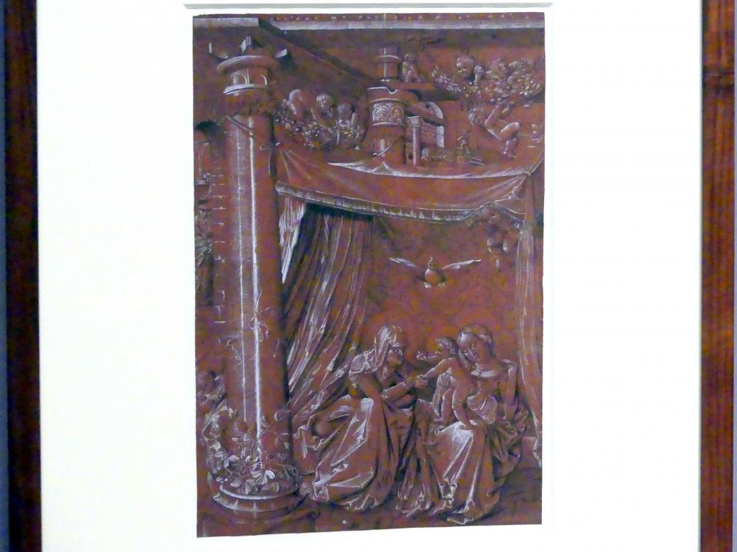 Hans Baldung Grien (Werkstatt): Die heilige Anna Selbdritt, um 1515