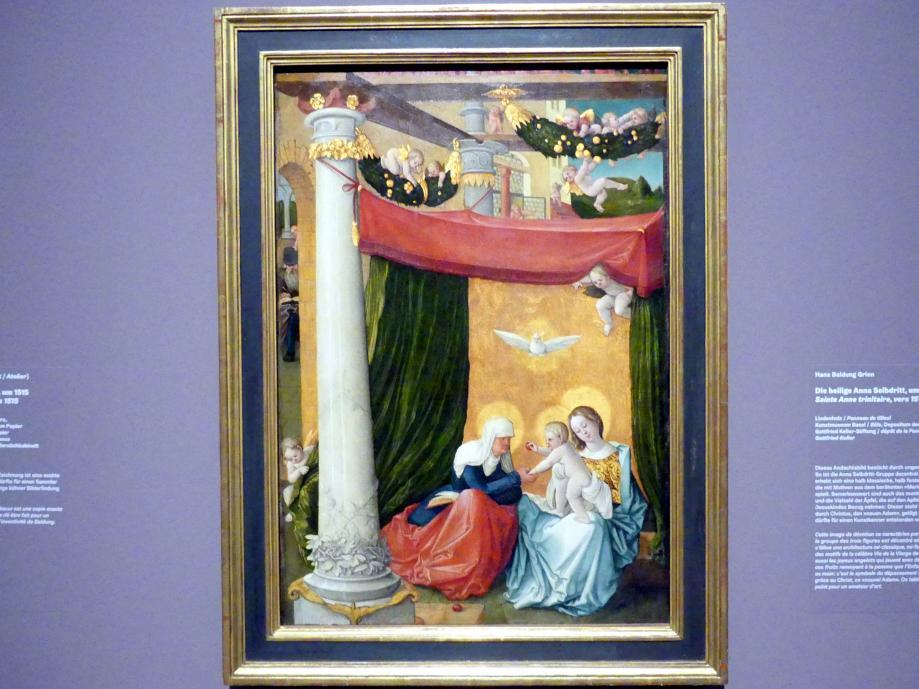 Hans Baldung Grien: Die heilige Anna Selbdritt, um 1512 - 1515