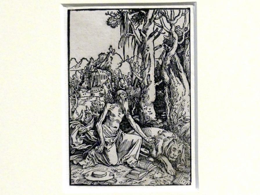 Hans Baldung Grien: Der heilige Hieronymus als Büßer in der Wildnis, 1511