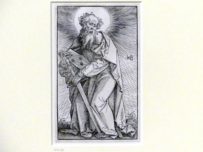 Hans Baldung Grien: Der Apostel Thomas, um 1519