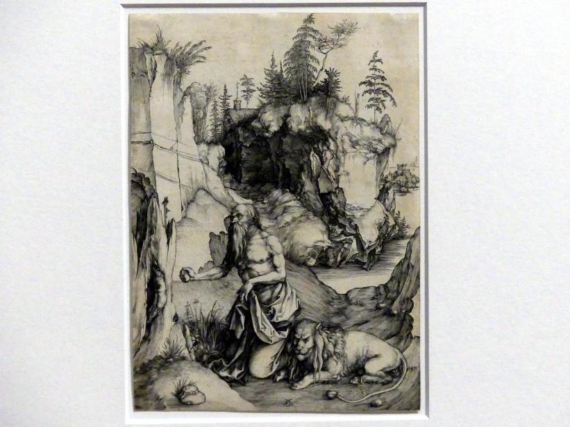 Albrecht Dürer: Der heilige Hieronymus in der Wüste, um 1496