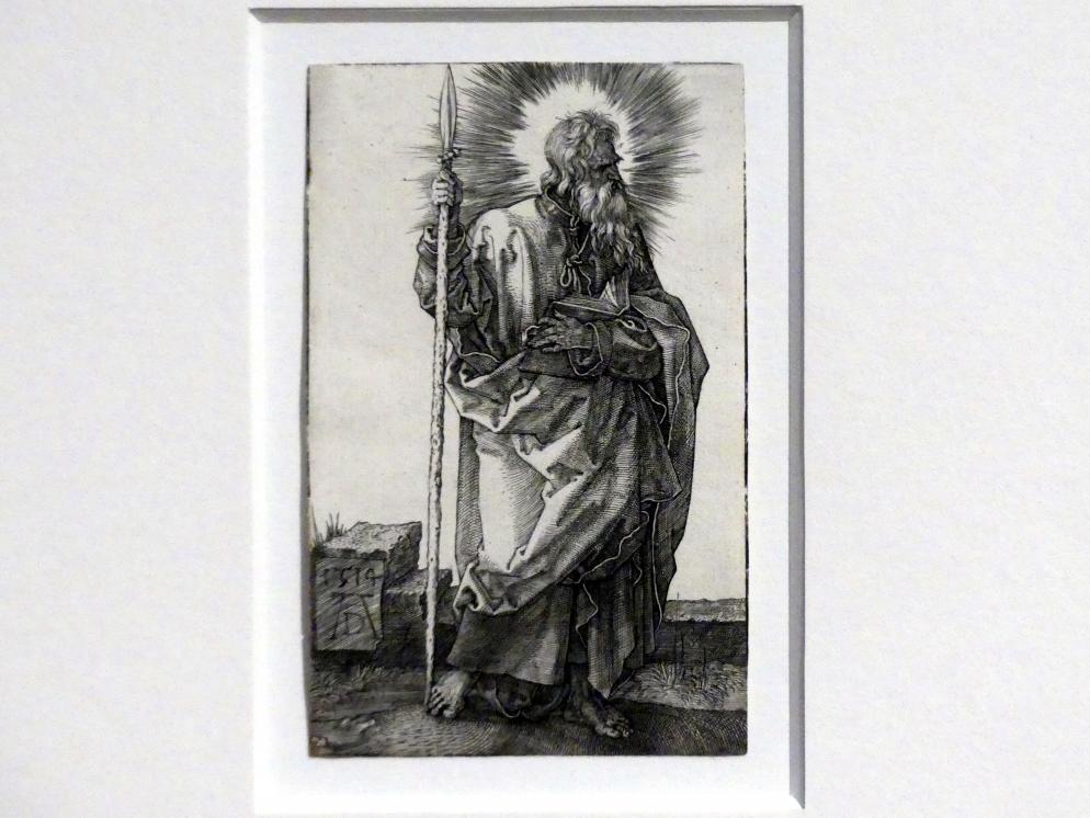 Albrecht Dürer: Der Apostel Thomas, 1514