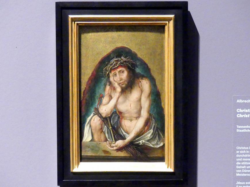 Albrecht Dürer: Christus als Schmerzensmann, um 1493