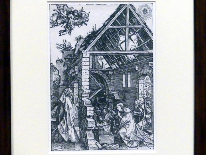 Albrecht Dürer: Die Geburt Christi, um 1502 - 1503