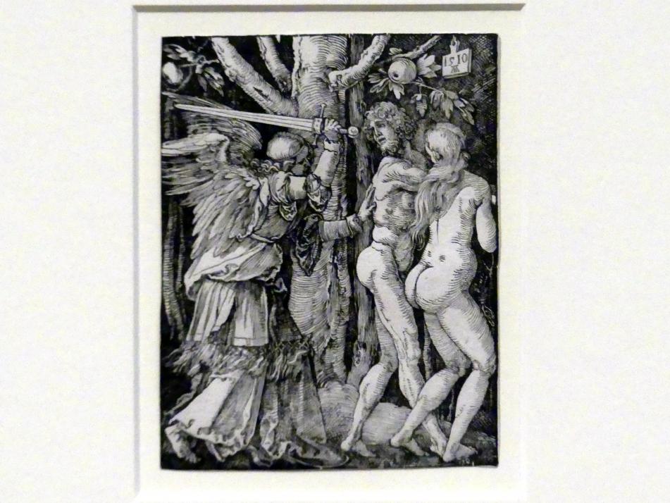 Albrecht Dürer: Die Vertreibung aus dem Paradies, 1510
