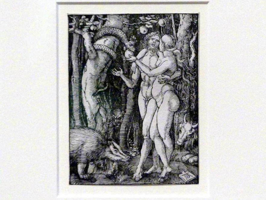 Albrecht Dürer: Der Sündenfall, 1509 - 1511