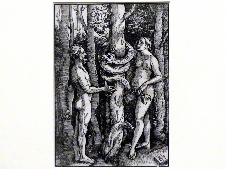 Hans Baldung Grien: Der Sündenfall, um 1514
