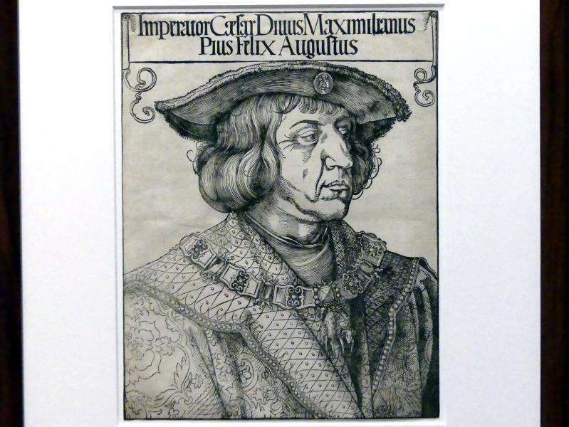 Albrecht Dürer: Bildnis Kaiser Maximilians I., um 1518 - 1519