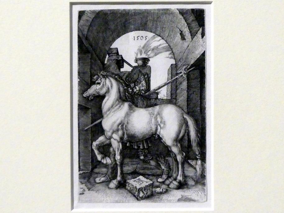 Albrecht Dürer: Das kleine Pferd, 1505