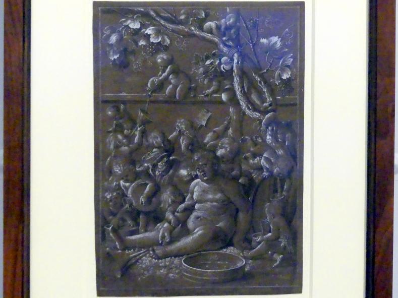 Hans Baldung Grien: Trunkener Bacchus, 1517
