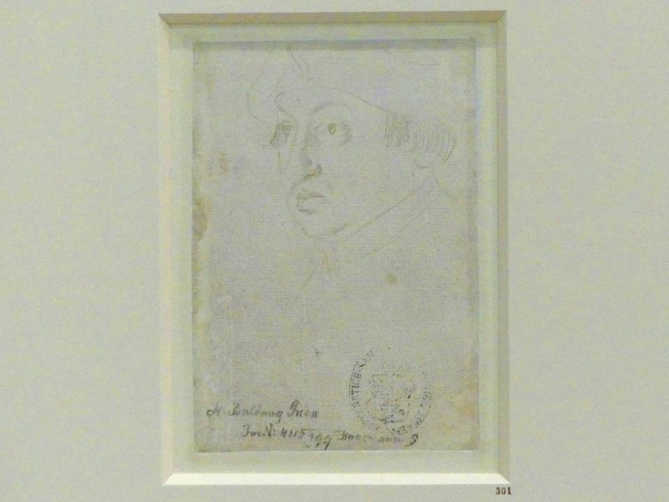 Hans Baldung Grien: Bildnis des Kardinals Albrecht von Brandenburg, um 1518
