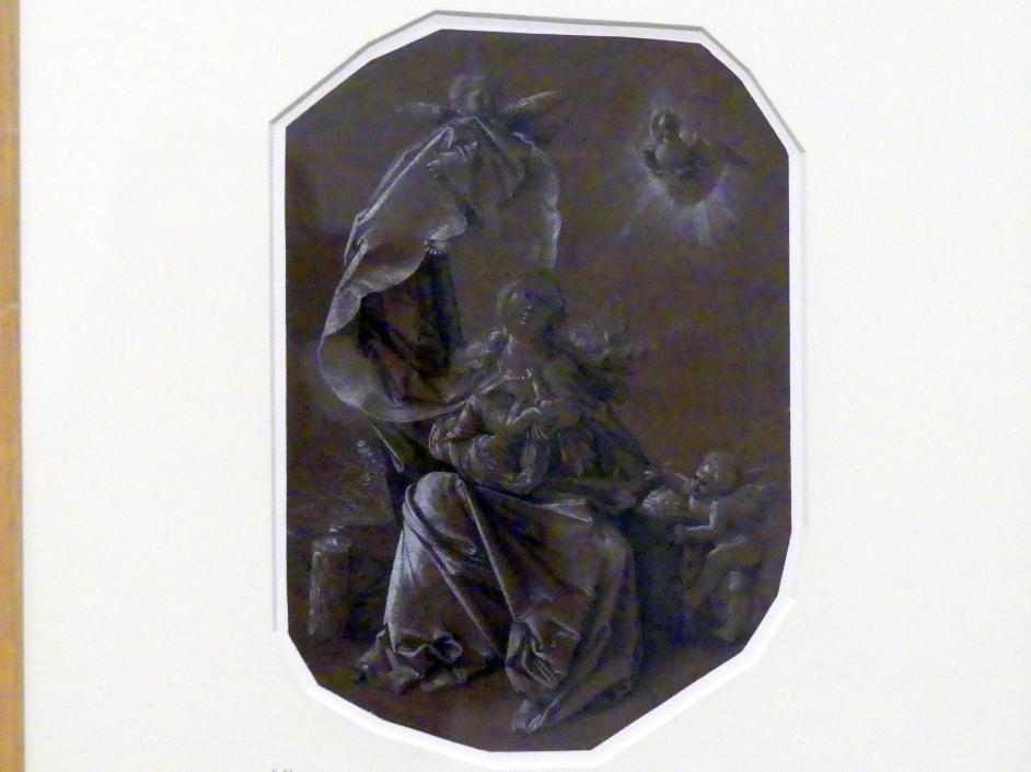 Hans Baldung Grien: Maria auf der Rasenbank, um 1514 - 1515