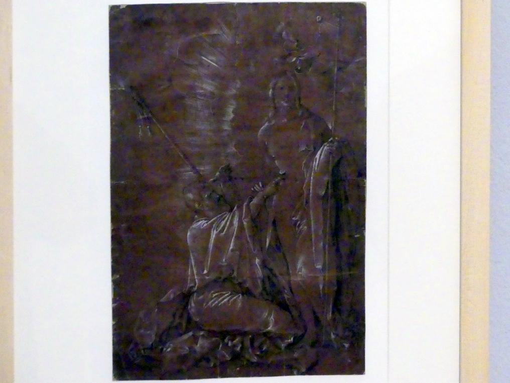 Hans Baldung Grien: Christus und der ungläubige Thomas, 1512 - 1513