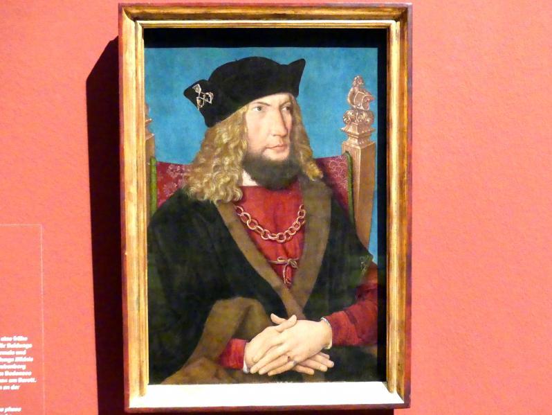 Bernhard Strigel: Bildnis des Johann Caspar von Laubenberg, um 1508 - 1509