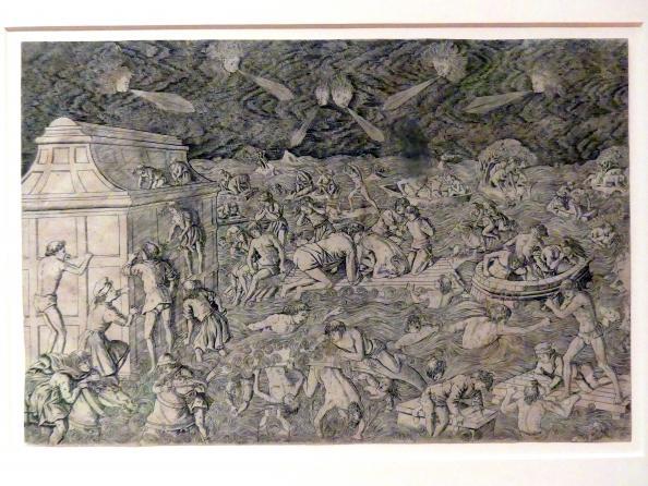 Francesco Rosselli: Die Sintflut, um 1465 - 1470
