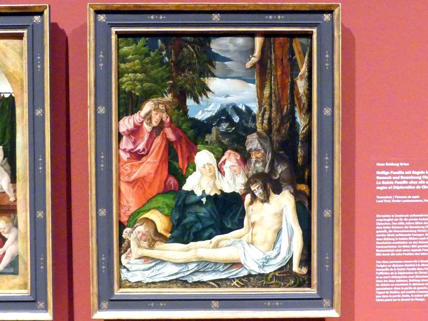 Hans Baldung Grien: Beweinung Christi, 1513